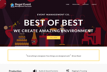 Regal Event Management